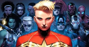 Civil War II Team Captain Marvel