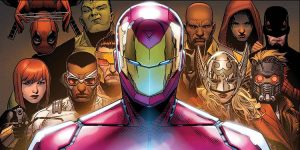 Civil War II Team Iron Man