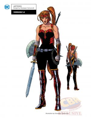 DC Comics Rebirth Red Hood and the Outlaws concept art 1