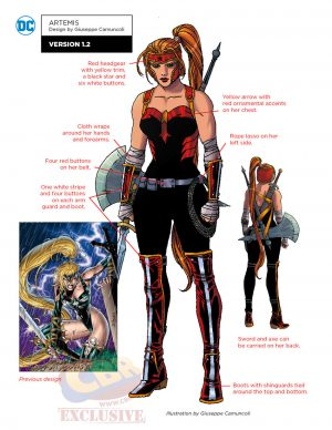 DC Comics Rebirth Red Hood and the Outlaws concept art 2