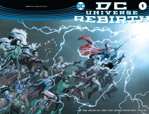 DC Universe Rebirth #1 cover 1