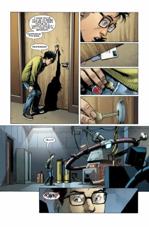 DC Universe Rebirth #1 spoilers preview 4