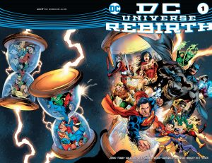 DC Universe Rebirth #1 variant cover 1