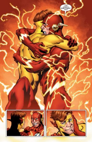 DCU REBIRTH Barry & Wally