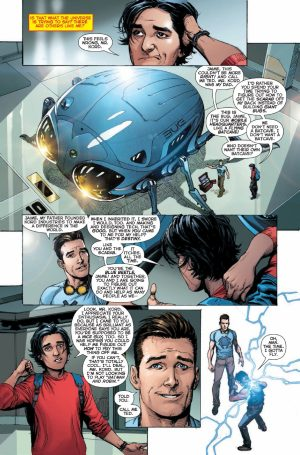 DCU REBIRTH Jaime & Ted