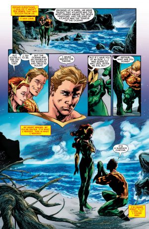 DCU REBIRTH marry me, Mera