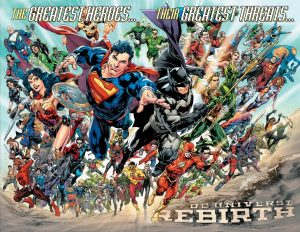 DCU REBIRTH new cast