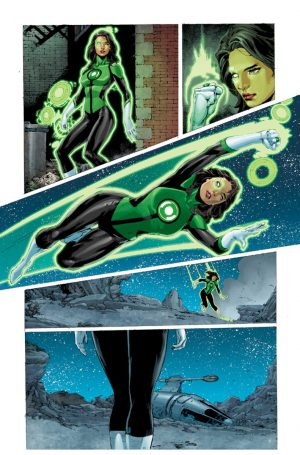 Green Lanterns Rebirth #1 spoilers preview 3