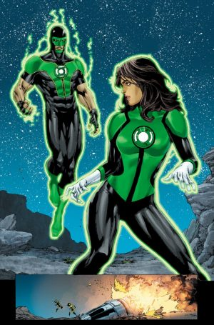 Green Lanterns Rebirth #1 spoilers preview 4