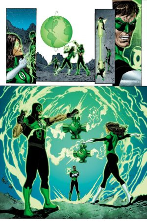 Green Lanterns Rebirth #1 spoilers preview 6