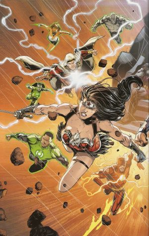 JUSTICE LEAGUE #50 World's Greatest Heroes 1
