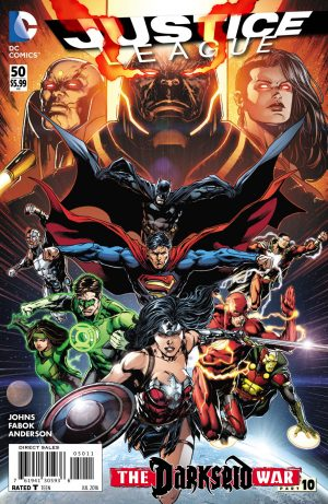 JUSTICE LEAGUE #50 cover A
