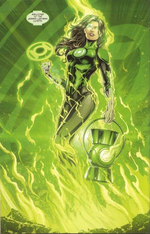 JUSTICE LEAGUE #50 full-fledged Lantern