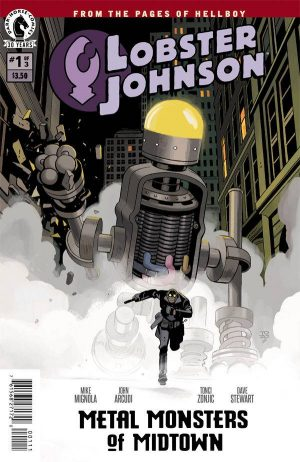 Lobster Johnson Metal Monsters of Midtown 1
