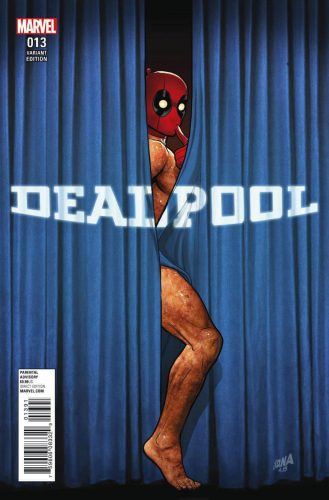 Marvel Comics Cilvil War II Deadpool #13 Nakayama DC Comics Rebirth 1 in 52 variant