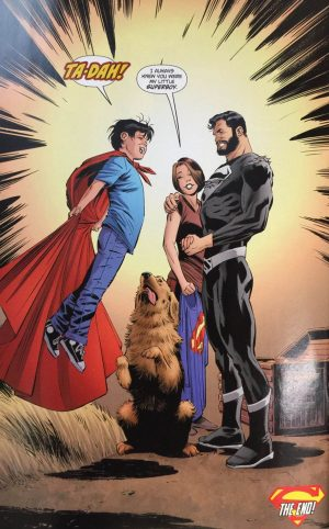 Superman Lois and Clark #8 last page DC Rebirth spoilers 2
