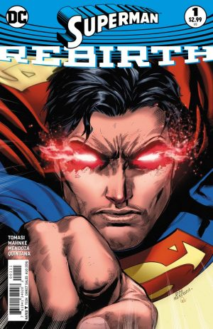 Superman Rebirth #1 spoilers preview 1