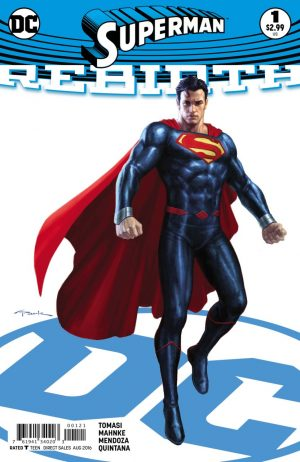 Superman Rebirth #1 spoilers preview 2