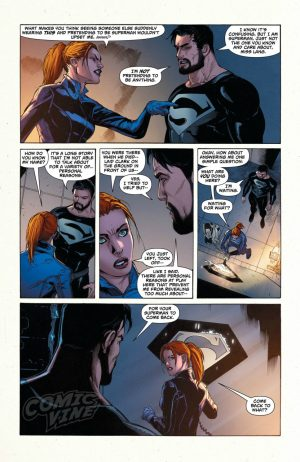 Superman Rebirth #1 spoilers preview 7