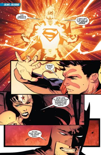Superman Wonder Woman #29 spoilers pre Rebirth 2
