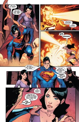 Superman Wonder Woman #29 spoilers pre Rebirth 6