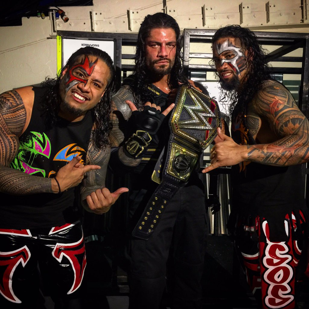 Images wwe roman reigns and the usos the usos roman reigns and