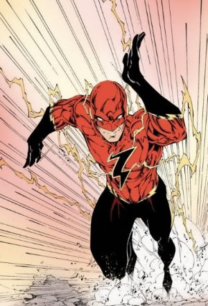 Another Wally West the Flash concept art by Brett Booth