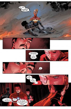 Civil War II #1 spoilers review Marvel Comics Now 1