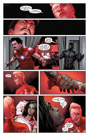 Civil War II #1 spoilers review Marvel Comics Now 3