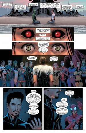 Civil War II #1 spoilers review Marvel Comics Now B