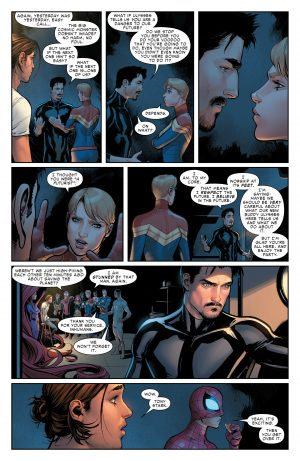 Civil War II #1 spoilers review Marvel Comics Now C