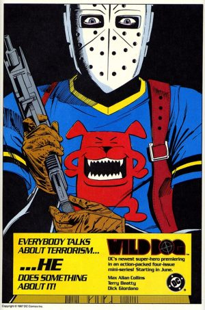 DC Comics Wild Dog House Ad 1987