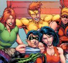 DC Rebirth Titans as Teen Titans banner