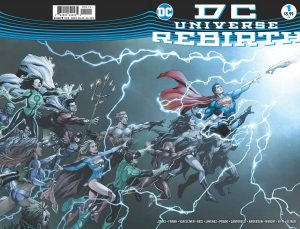 DC Universe Rebirth #1 second print