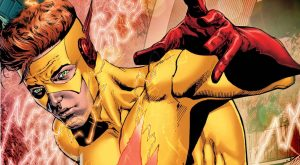 DC universe rebirth #1 wally west by EVS