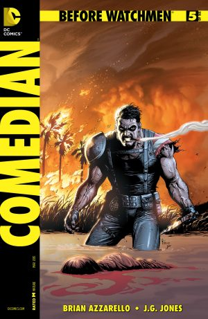 Gary Frank Before Watchmen Comedian cover 1