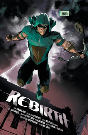 Green Arrow Rebirth #1 spoilers review 2