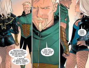 Green Arrow Rebirth #1 spoilers review 4