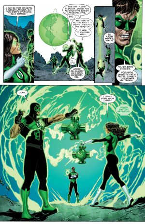 Green Lanterns Rebirth #1 spoilers 0