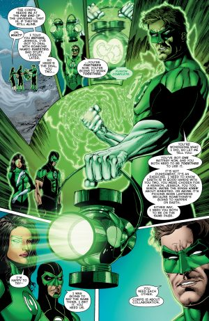 Green Lanterns Rebirth #1 spoilers 1