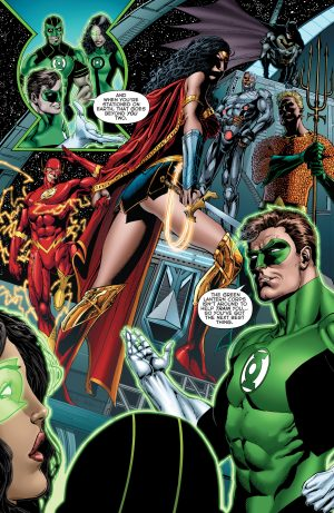 Green Lanterns Rebirth #1 spoilers 2