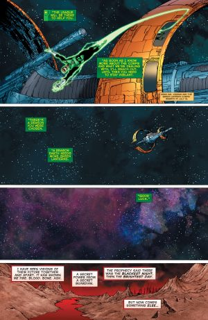 Green Lanterns Rebirth #1 spoilers 3