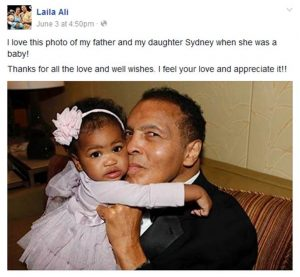 Laila Ali responds to Muhammad Ali's Death 1