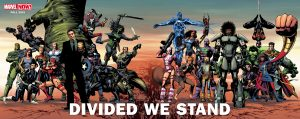 New Marvel Now 2016 Divided We Stand Puzzle