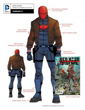 Red Hood and the Outlaws concept art Red Hood
