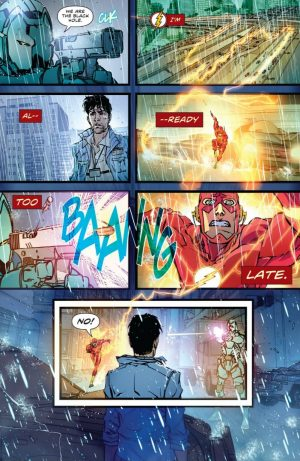 The Flash #1 DC Rebirth spoilers D