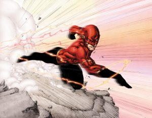 The Flash old concept Wally West
