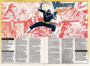 Vigilante aka Adrian Chase from DC Comics Who's Who