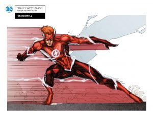 Wally West The Flash Titans concept art teaser 1
