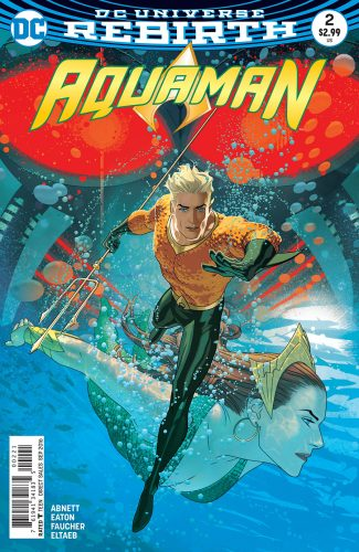 Aquaman #2 DC Comics Rebirth spoilers 0